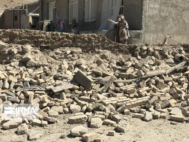 تصاویری از زلزله امروز در قوچان