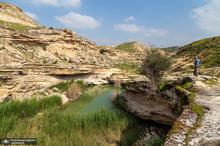 طبیعت اطراف سد آب گُلوم بهبهان