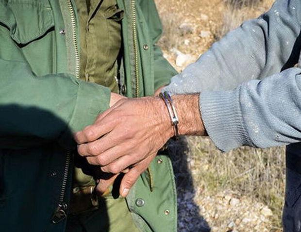یک متخلف زیستمحیطی در لرستان دستگیر شد