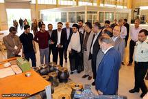 بازدید رئیس کل دادگستری فارس از  واحدهای تولیدی منطقه ویژه اقتصادی شیراز