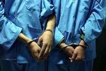 2 سارق با 200 فقره سرقت دستگیر شدند