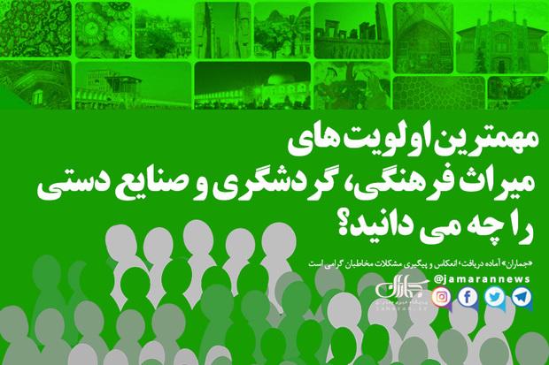 وزیر و مسئولان میراث فرهنگی، گردشگری و صنایع دستی بخوانند!