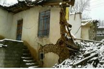 ریزش سقف مدرسه ابتدایی در سردشت  انتقال دانش آموزان به کانکس