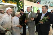 نخستین پرواز حجاج خراسانی در فرودگاه مشهد به زمین نشست