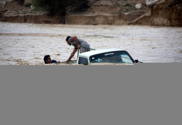 سیل در شهرستان میبد 2 کودک را به کام مرگ فرستاد