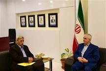دیدار رئیس سازمان امور عشایری ایران با استاندار خراسان جنوبی