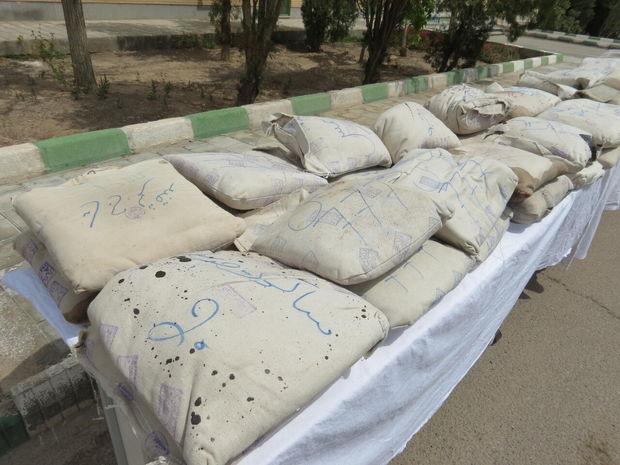۵۹ کیلوگرم تریاک در جاده یاسوج به شیراز کشف شد
