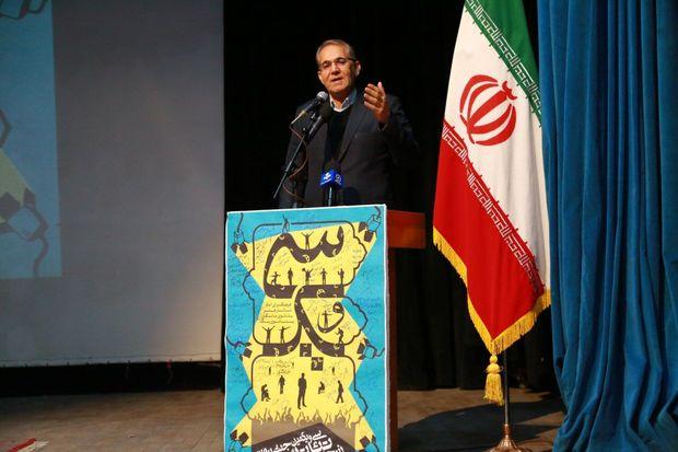 استاندار زنجان: گفتمان سالم هنر را در جامعه پیاده کنیم
