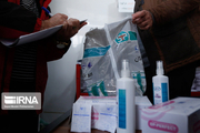 توزیع ۳۵۰۰ بسته اقلام بهداشتی بین خانواده ایثارگران آذربایجانغربی