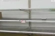 خالی شدن قفسه های فروشگاه ها در سیدنی پس از شیوع کرونا
