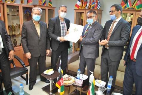 دیدار مدیران کمیته ملی المپیک افغانستان با مسئولان فدراسیون کونگ فو