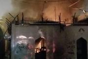 آتشسوزی مجدد در محل کنسولگری ایران در نجف + عکس