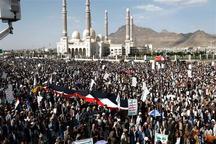 تظاهرات هزاران یمنی علیه ترامپ + تصاویر