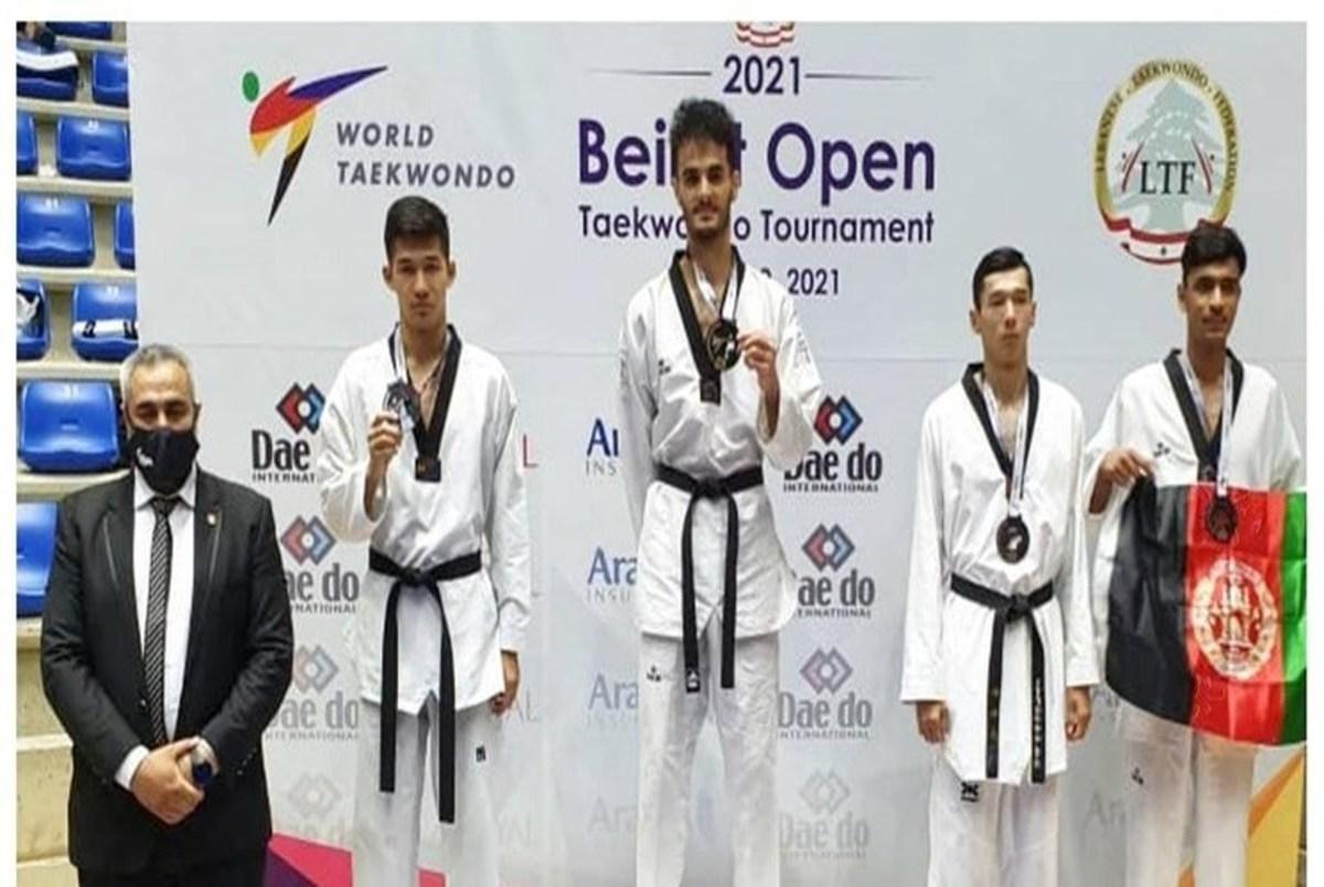 حسینی مدال طلا گرفت و 20 امتیاز به رنکینگش اضافه کرد
