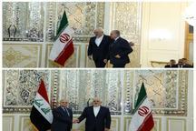 دیدار وزیر خارجه عراق با ظریف در تهران