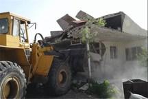 تخریب 27 سازه غیر مجاز در اراضی کشاورزی شهرستان قزوین