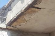 خسارت زمین لرزه به واحدهای مسکونی گچساران