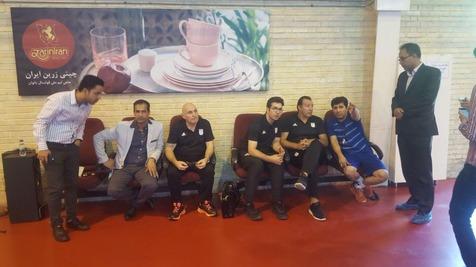 حضور ویلموتس در اردوی تیم ملی فوتسال +عکس