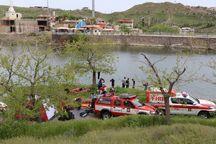مانور غواصان آتش نشانی در چالیدره برگزار شد