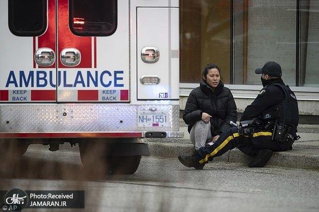 عکس/ چاقوکشی در ونکوور کانادا