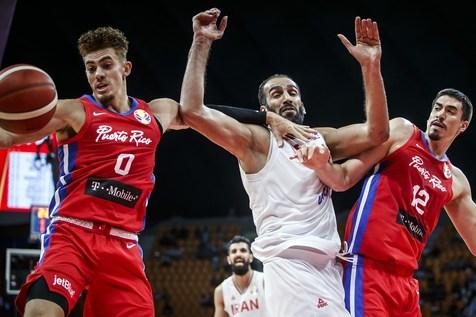 باخت در آستانه پیروزی!/ شکست بسکتبالیست های ایران برابر پورتوریکو در ثانیه های پایانی+ عکس و فیلم