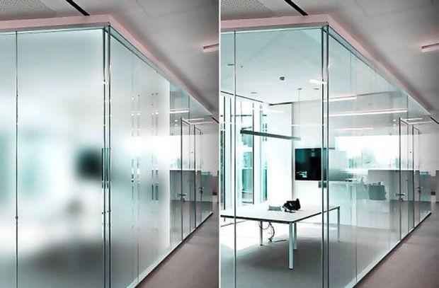 خانه هوشمند با شیشه هوشمند