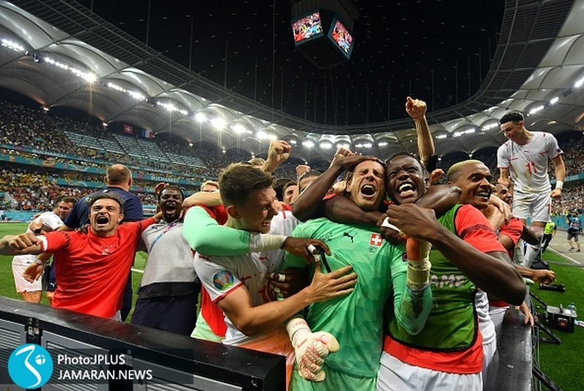 عکس روز یورو ۲۰۲۰/ این فوتبال است!