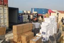 28 میلیارد ریال قاچاق کالا در مرز مهران کشف شد