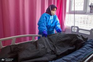 منتخب تصاویر امروز جهان- 30 فروردین 1400 مرگ کرونایی در قزوین بیمار کرونایی