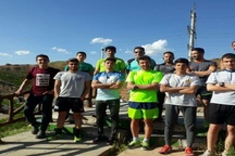 اردوی آماده سازی تیم ملی سه گانه کشور در تبریز آغاز شد