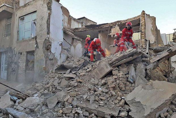ریزش خانه قدیمی در جنوب تهران ۲ مصدوم داشت