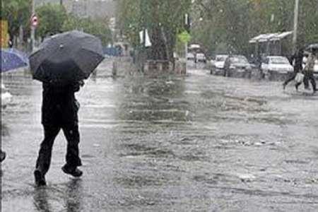 رگبار باران در برخی نقاط گیلان تا سه روز آینده