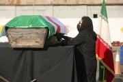 تشییع پیکر و خاکسپاری ارشا اقدسی + عکس و فیلم