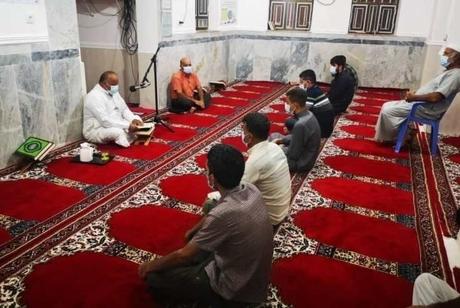 آغاز آیین سنتی «الوداع» با ماه رمضان در گناوه