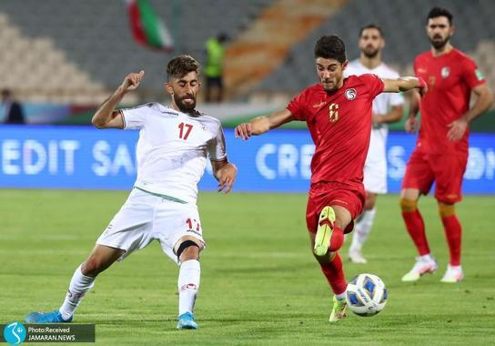 علی قلی زاده ایران سوریه مقدماتی جام جهانی 2022