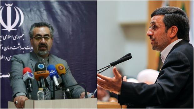 واکنش وزارت بهداشت به ادعای احمدی نژاد در مورد کرونا