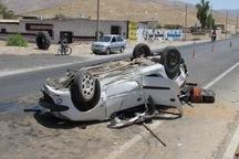 واژگونی پژو 206 منجر به کشته شدن یک نفر و مجروح شدن 2نفر شد
