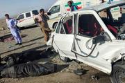 8 کشته در تصادفی مرگبار در جاده سرباز+ تصاویر