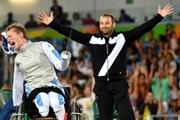 لحظات به یادماندنی تاریخ پارالمپیک| پیروزی شمشیربازی بدون دست و پا!