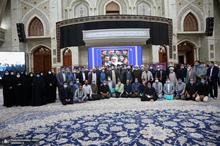 دیدار سرپرست و کارکنان موسسه تنظیم و نشر آثار امام خمینی(س) با سید حسن خمینی