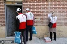 توزیع  25 هزار بسته بهداشتی مقابله با کرونا توسط هلال احمر