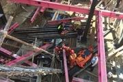 بی احتیاطی منجر به سقوط ۲ کارگر ساختمانی در تهران شد