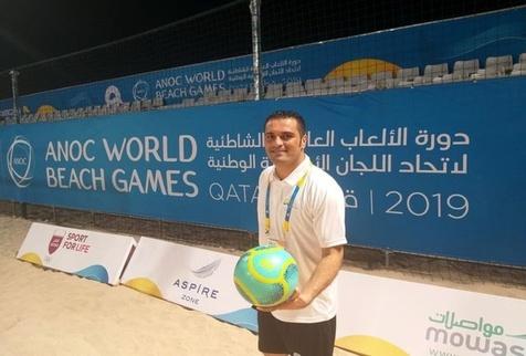 اکبرپور کاندیدای قضاوت جام جهانی فوتبال ساحلی 2021 شد