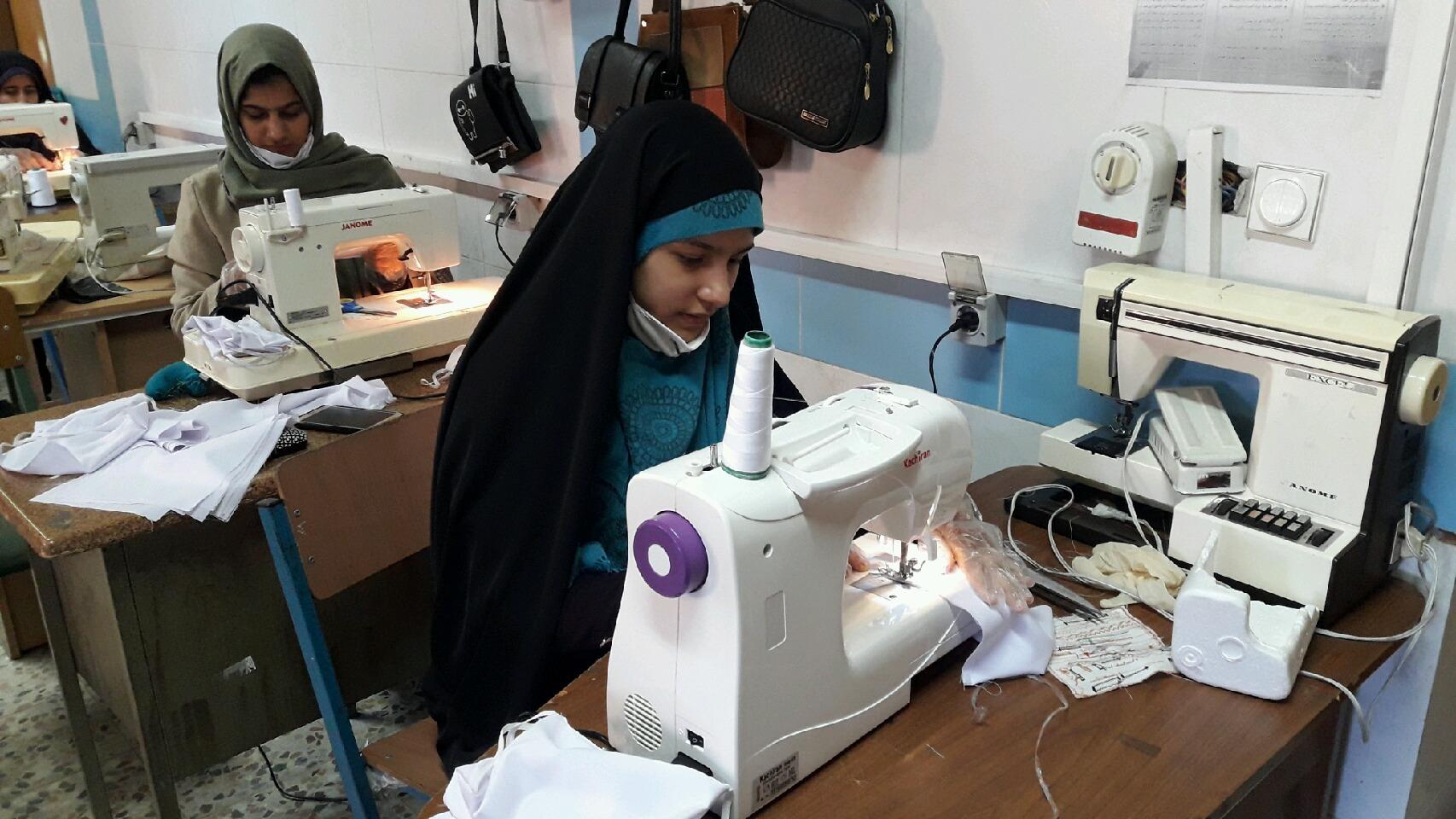 تولید 500 هزار ماسک در آموزشگاه های فنی و حرفه ای استان مرکزی