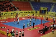 تیم والیبال سپاهان اصفهان بر راهیاب ملل مریوان غلبه کرد