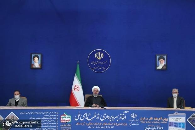 روحانی: همه پیش بینیهای امام درست از آب درآمده است