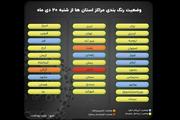 اسامی استان ها و شهرستان های در وضعیت قرمز / شنبه 20 دی 99
