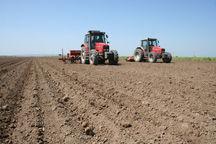 آغاز کشت پاییزه در زمین های کشاورزی دزفول