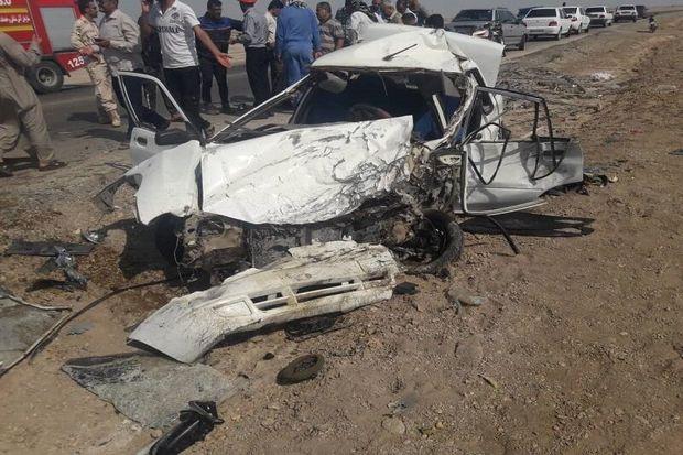 حادثه رانندگی در جاده زالیان ۲ کشته برجا گذاشت