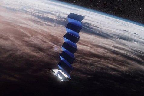 آزمایش اینترنت ماهواره ای اسپیس ایکس در کانادا